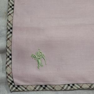 """Burberry 18""""×18"""" small scarf"""